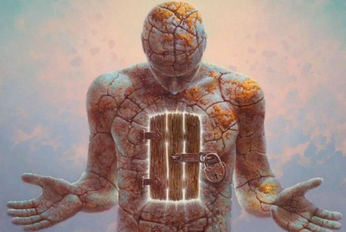 что происходит внутри нас картинки ломаной формы